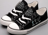 Faith, Hope, and Love Canvas Shoes (2 Styles To Choose From)