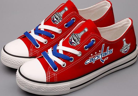 Washington Capitals Championship Edition Fan Shoes (4 Styles To Choose From)