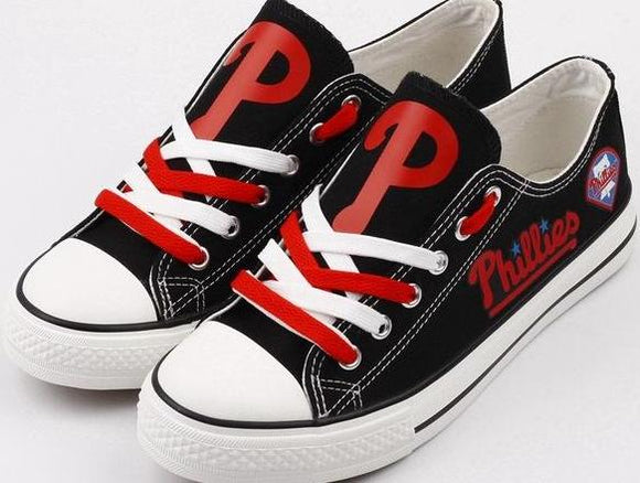 Philadelphia Phillies Fan Shoes (Black & Red)