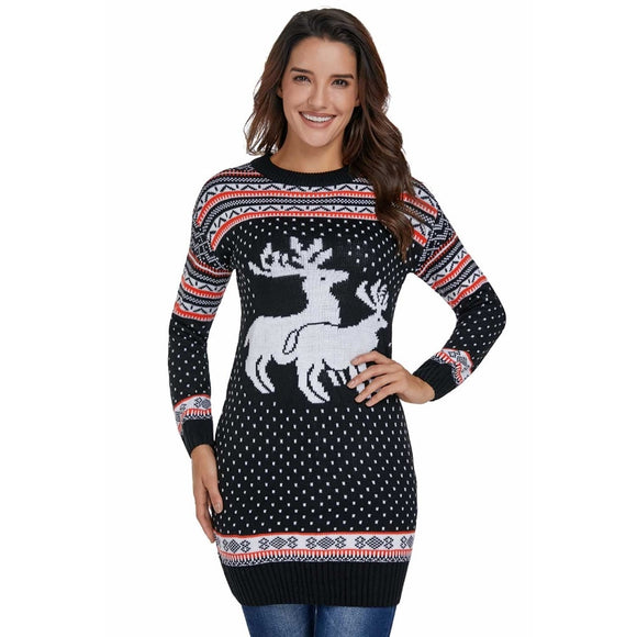 Women's Xtra Long Ugly Sweater Option