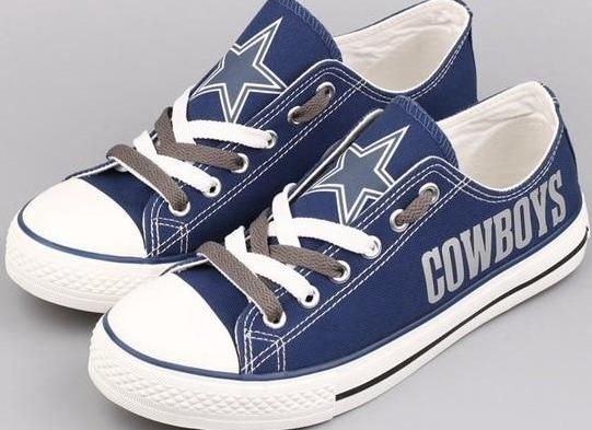 Dallas Cowboys Fan Shoes (4 Styles To Choose From)