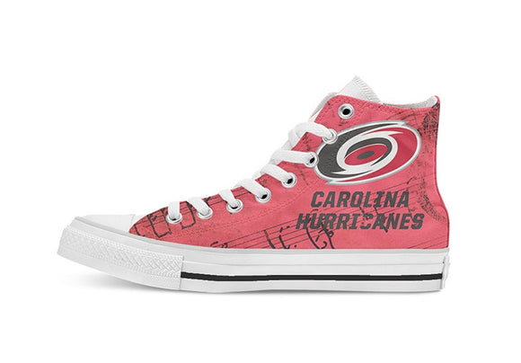 Carolina Hurricanes High-Top Fan Shoes (2 Styles To Choose From)