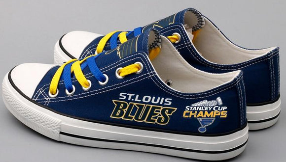 St. Louis Blues Championship Edition Fan Shoes