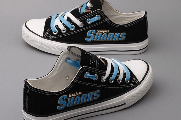 San Jose Sharks Canvas Shoes