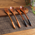 Set of Wooden Cutlery