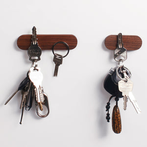Magnetic Wooden Key Hook