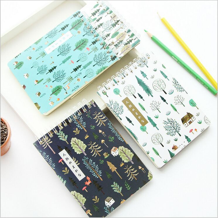 Green Forest Plants Notebook