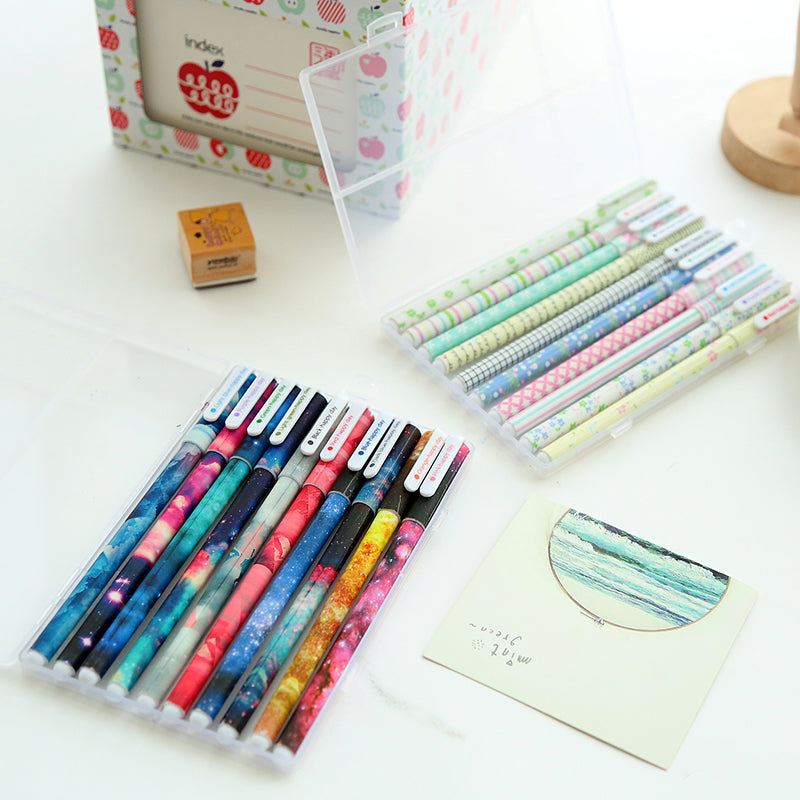 Beautified Plastic Gel Pens