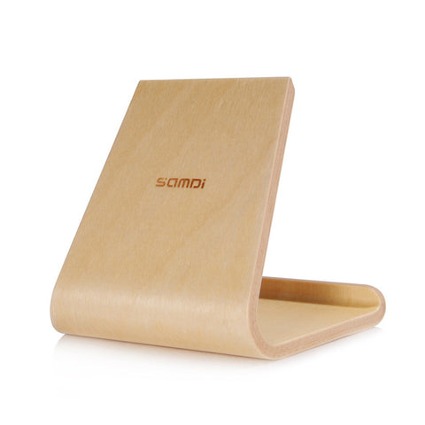 SAMDI Wooden Phone/Tablet Desk Stand