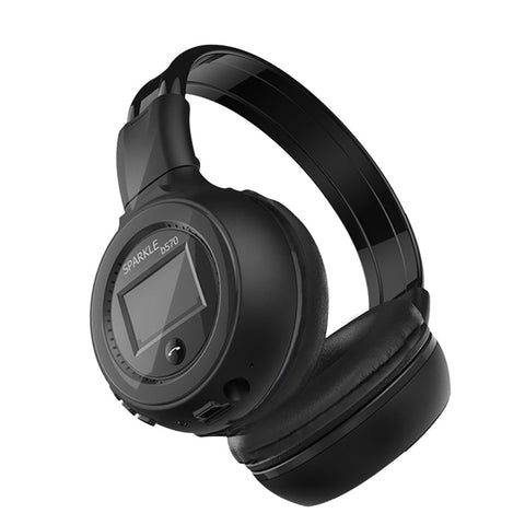 Bluetooth Stereo Headphone with LCD Display