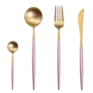 Luxury Stainless Steel Cutlery Set