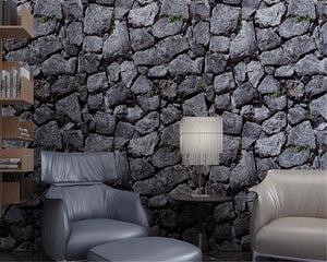 Antique Style Wallpapers with Massive Stones