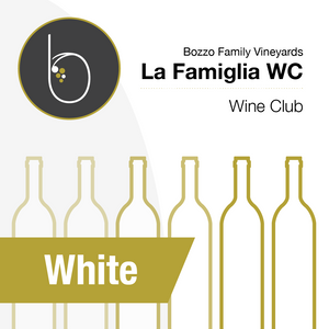 Graphic of white wine bottles for white wine club