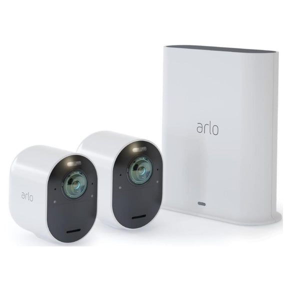 Arlo Ultra VMC5240 4K UHD Wire-Free Security System with 2 Cameras