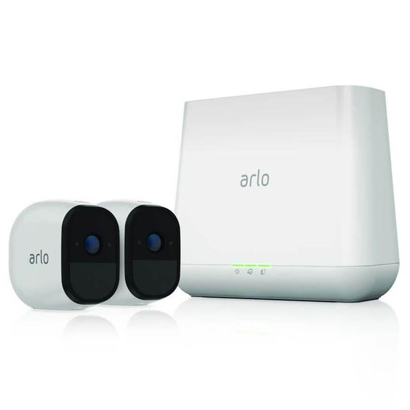 Arlo Pro VMS4230 Smart Security System with 2 Cameras