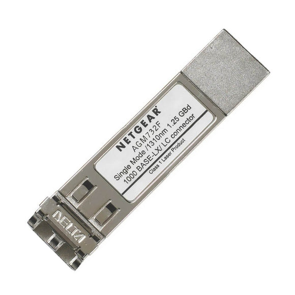 Netgear ProSafe AGM732F 1000Base-LX SFP Transceiver Single Mode LC GBIC Module