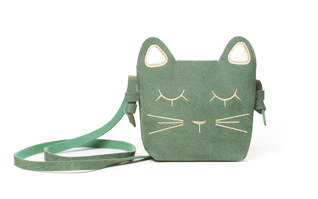 Green Kitty Cat Bag
