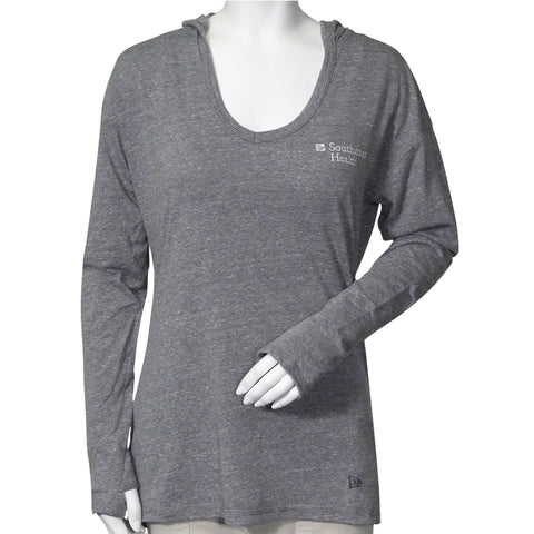 New Era Tri-Blend Pullover Hoodie-Women