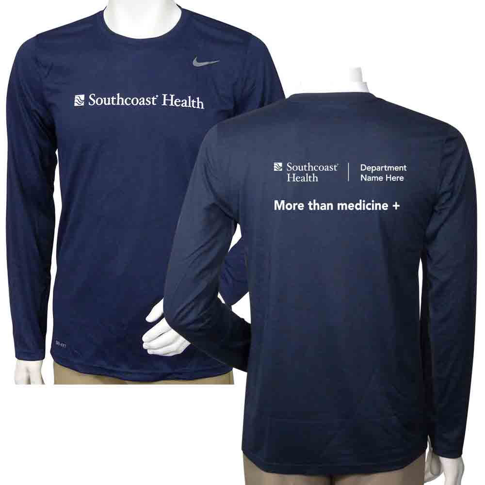 14bac452f8f Nike Dri-FIT Performance Long Sleeve-Men – Southcoast Health System