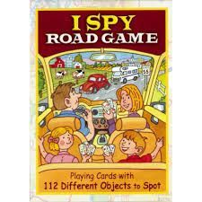 Playing Cards-I Spy Road Game