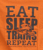 Eat, Sleep, Train Repeat