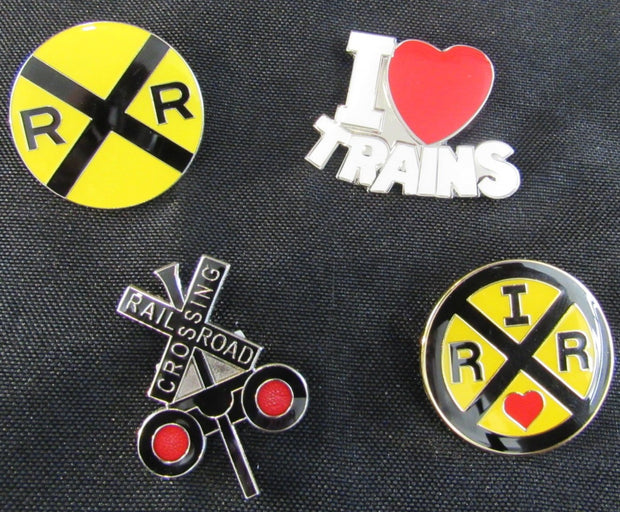 Railroad Crossing Pin