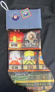 Lionel Train Themed Stocking