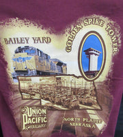 Maroon Bailey Yard T-Shirt