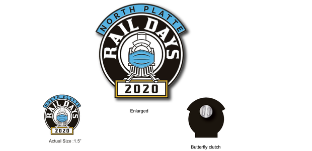 North Platte Rail Days 2020 Trading Pin