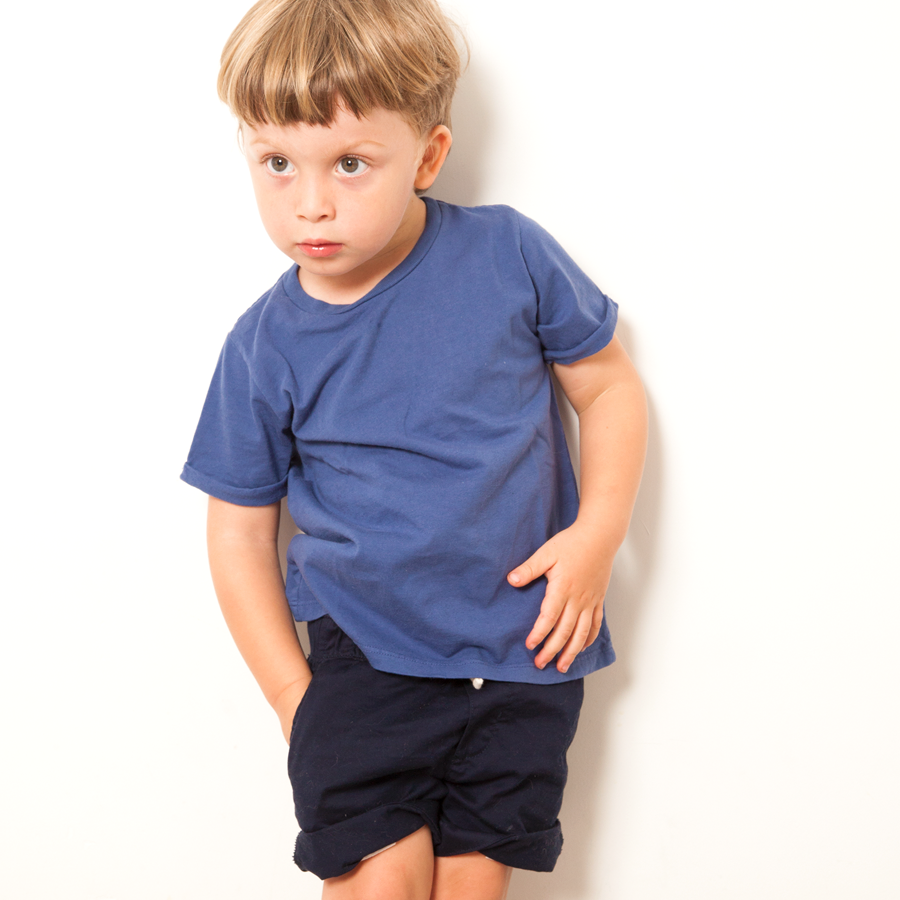 Kids: 'Parker' Tee in Blue