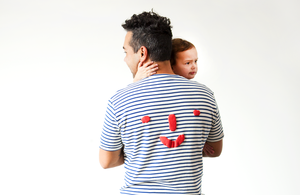 Grown-ups: 'Nosey' Tee in Stripes