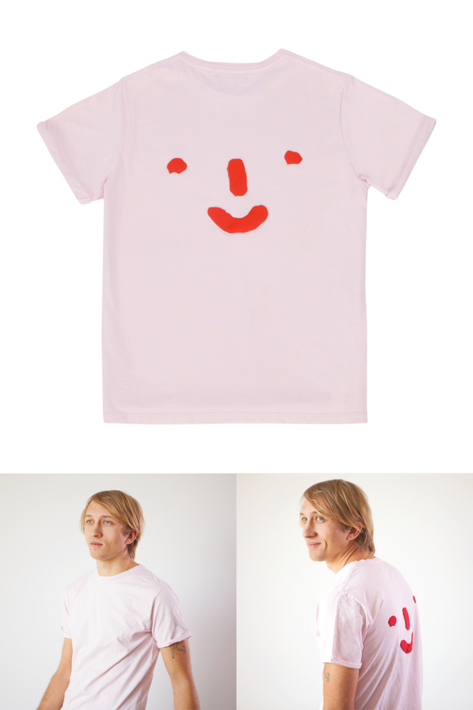 Grown-ups: 'Nosey' Tee in Pink