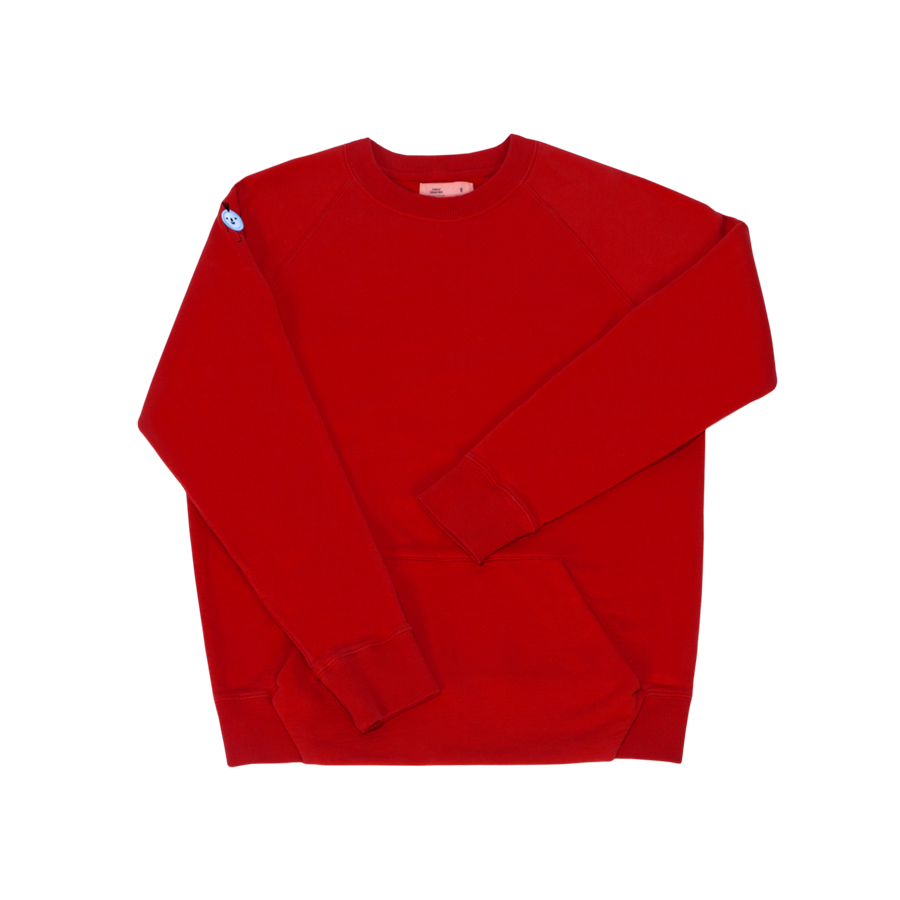 Red on Red Sweatshirt Combo