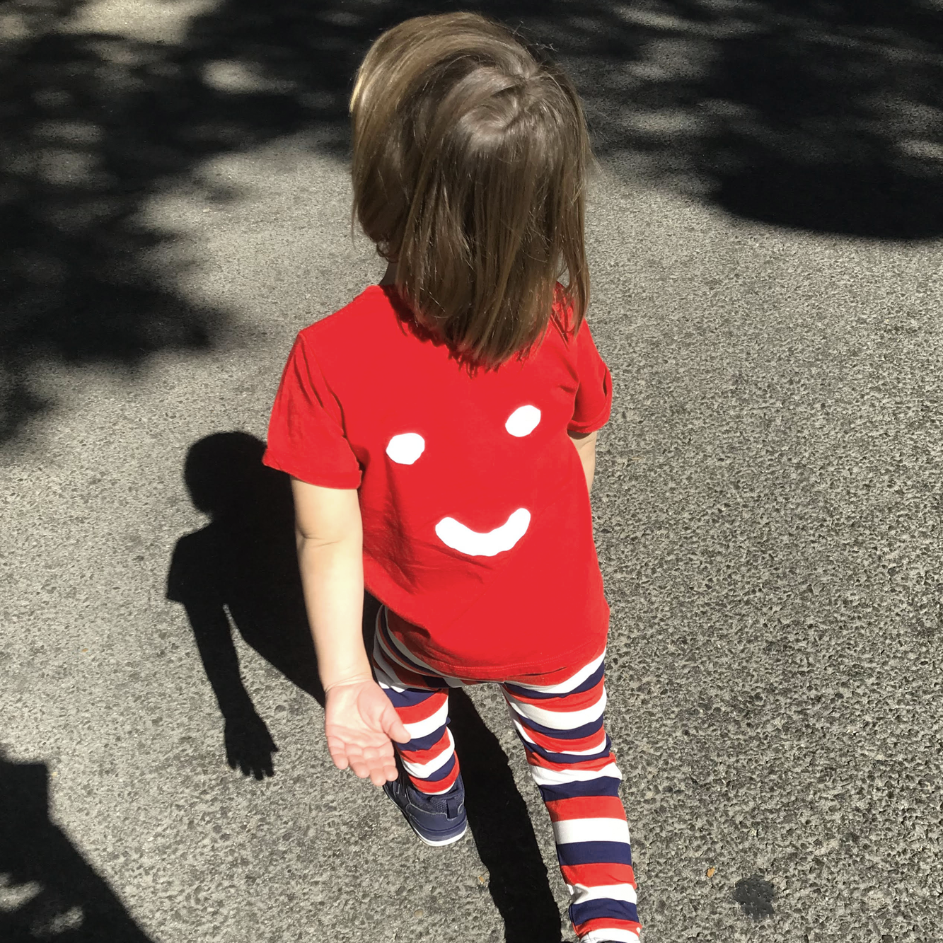 Kids: 'Parker' Tee in Red