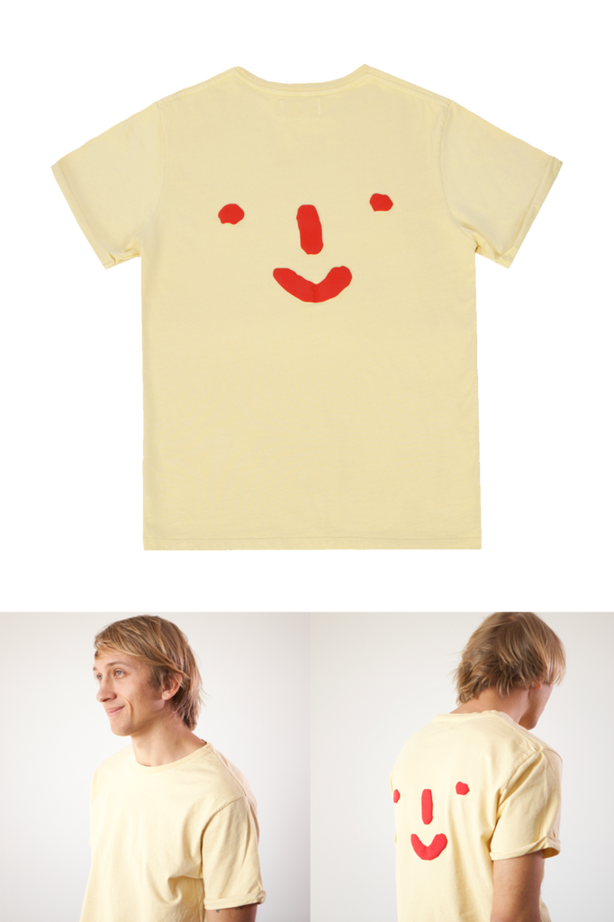 Grown-ups: 'Nosey' Tee in Yellow