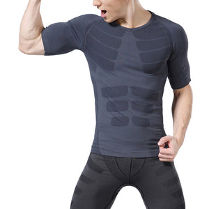 Short Sleeve Base Layer T-Shirt For Men
