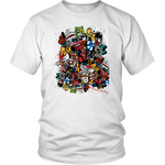 Graffiti Print Tee - 1947 Collective T-shirt
