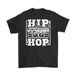 Hip Hop Boom Box Tee - 1947 Collective T-shirt
