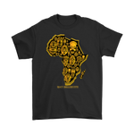 African Tribal Mask Tee Shirt - 1947 Collective T-shirt