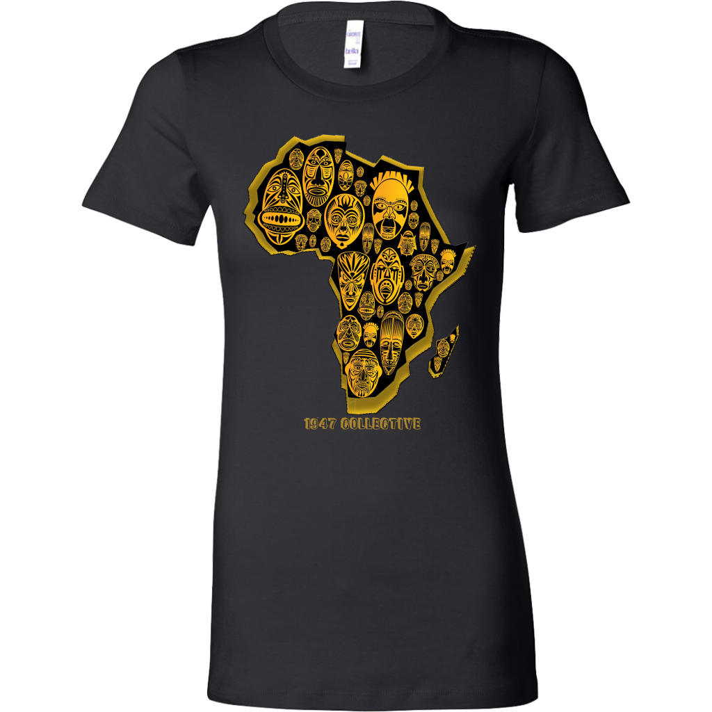 African Tribal Mask Tee - 1947 Collective T-shirt