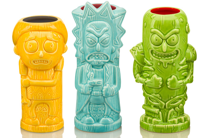 Rick and Morty Geeki Tikis® Mugs Help You Get Riggity Riggity Wrecked