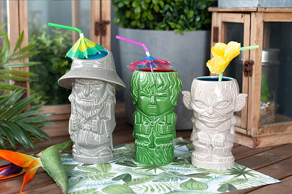 Beeline Creative presents Geeki Tikis® mugs based on J.R.R. Tolkien's hit fantasy series, The Lord of the Rings!