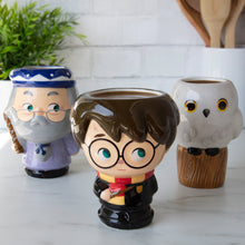 Harry Potter - Cupful of Cute™ 3-Pack Harry, Hedwig & Dumbledore Mugs
