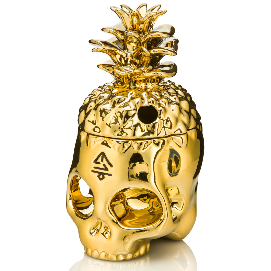 Pineapple Skully - Gold Edition