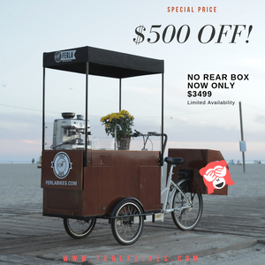Ferla 2 Coffee Bike Without Rear Box (RESERVE TODAY)