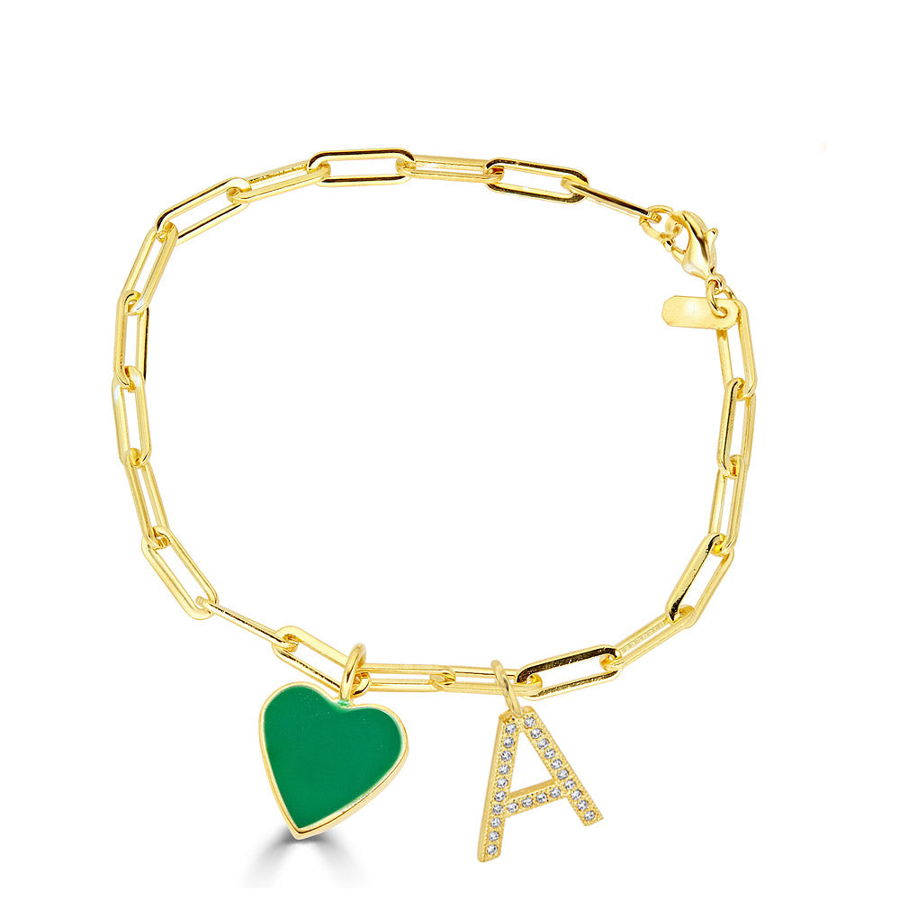 false the yellow upscale shop gold product scale cassandra initial jewellery subsampling crop letter goad bracelet alice