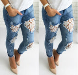 pantalon En Jeans Mode Femme Fashion Style