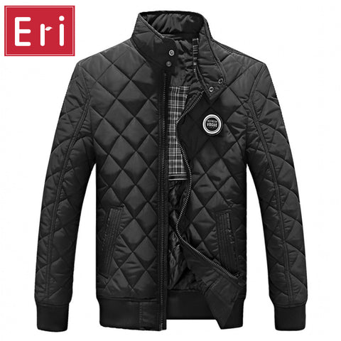2017 Mode Homme Jacket Men Warm Black Brand Outwear