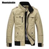 Men's Jacket Spring Army Military Jacket Homme Automne