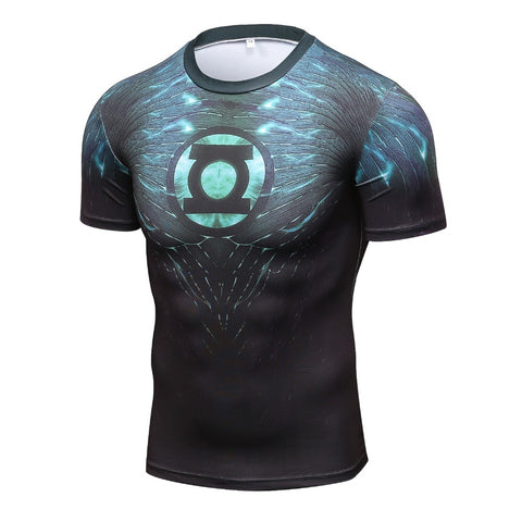 2017  Superhero Iron Man T Shirts Compression Shirt 3D